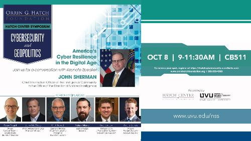 Cyber Security and Geopolitics