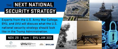 Next National Security Strategy