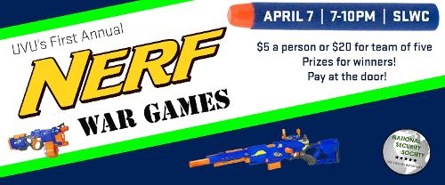 Nerf War Games