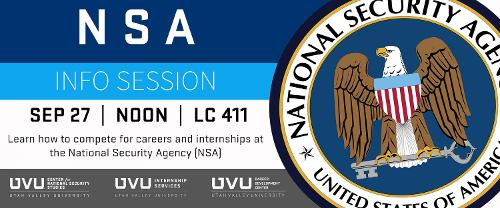 NSA Info Session