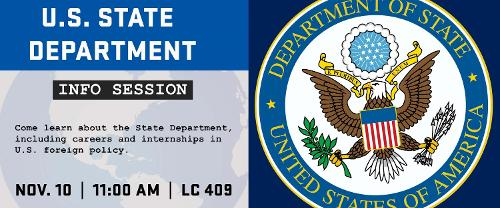 U.S. State Department Info Session