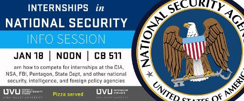 Internships in National Security