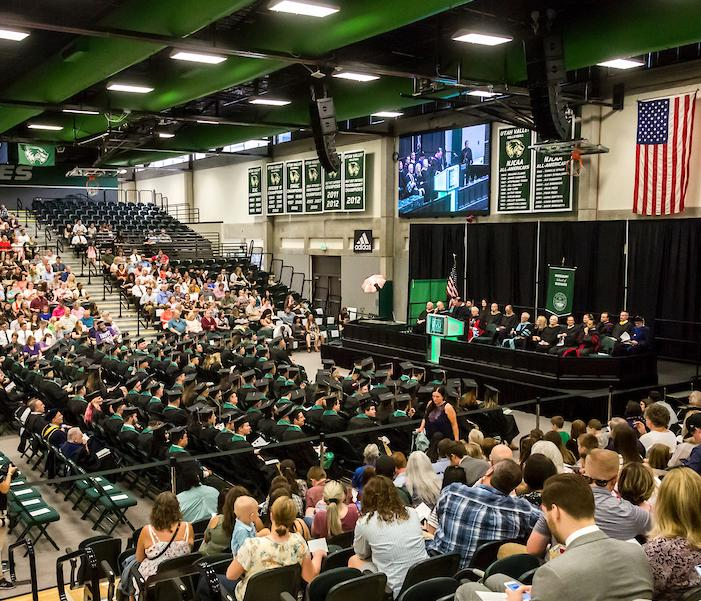 UVU honors business grads at 2018 MBA Convocation