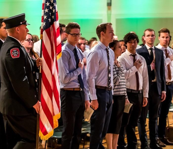 Paramedic Program Graduates Honored
