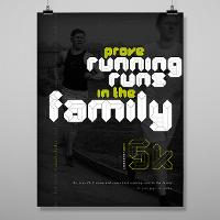 """book that says """"prove running runs in the family"""""""