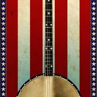 illustration of a banjo