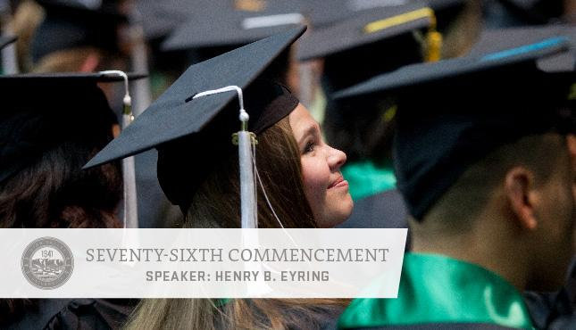 Utah Valley University awarded more than 5,300 degrees and certificates at its 76th Commencement on May 4. Congratulations, Wolverines!