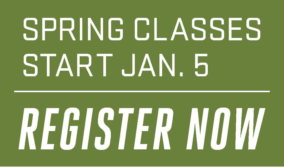 Registration for Spring 2015 classes is now open for all students. Register now!