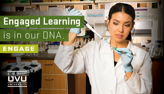 Apply today to start your own engaged learning experience at Utah Valley University.