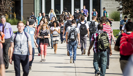 Enrollment for UVU's 2015 fall semester has crested the 33,000 mark, making UVU the largest public institution of higher education in the state.
