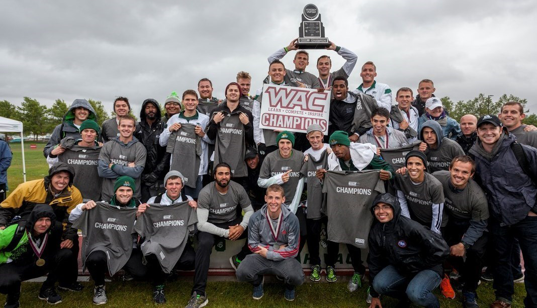 The UVU men's track and field team clinched their first-ever WAC Outdoor Track and Field Championship, along with eight WAC titles in individual men's and women's events.