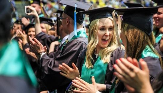 Utah Valley University awarded more than 5,000 degrees during its historic 75th Commencement. Congratulations to the Class of 2016!