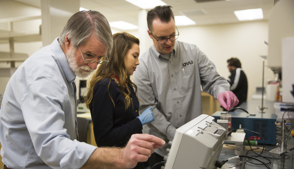 Student researchers in UVU's physics department receive national recognition for their work in applying new ultrasound technology to medical science.
