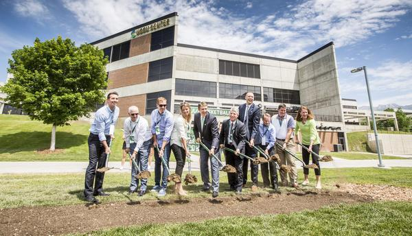 Utah Valley University broke ground on a new $3.5 million practice and conditioning facility to house its men's and women's basketball teams on Wednesday, June 22.