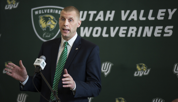 NBA veteran and former NCAA national champion Mark Pope has been named the UVU men's basketball head coach.