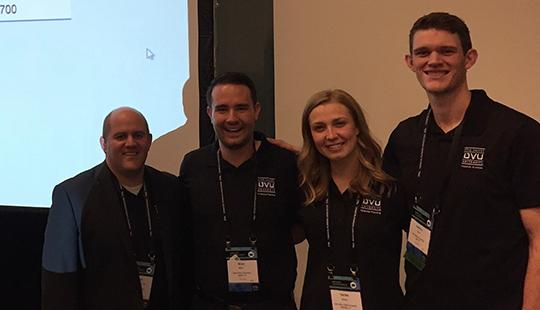 UVU Personal Financial Planning students captured first place in the Financial Planning Association's (FPA) National Financial Planning Challenge October 2-4 in Nashville, Tenn.