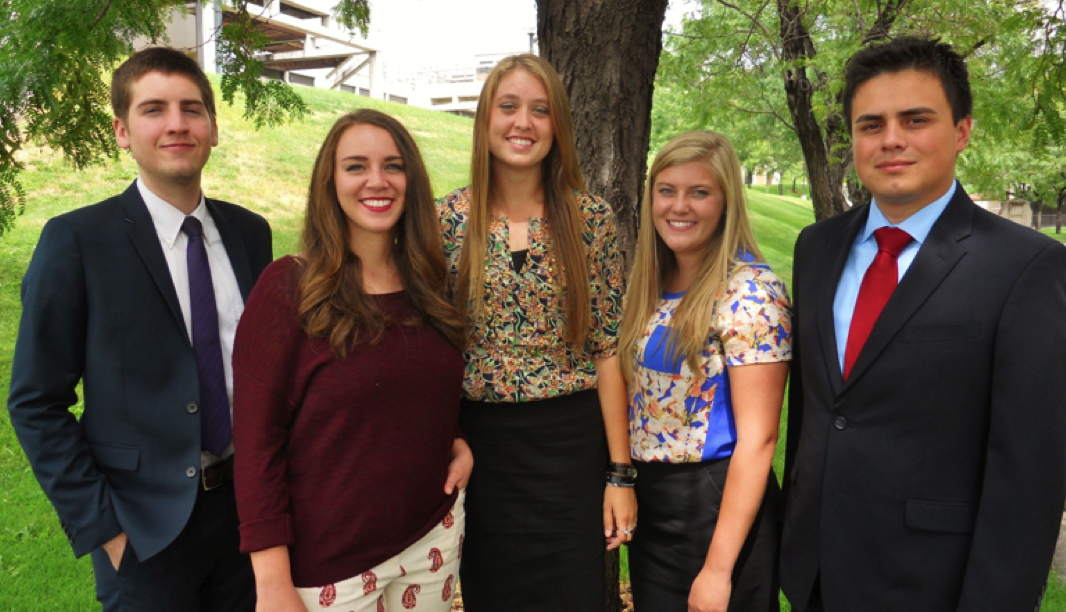 Five UVU students are on paid internships this fall in Washington, D.C., where they will have the opportunity to meet with leaders from around the globe.