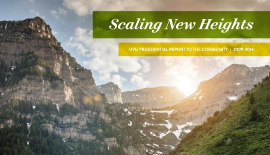 Take a look at the incredible heights UVU has reached in the last five years under the leadership of President Matthew S. Holland.