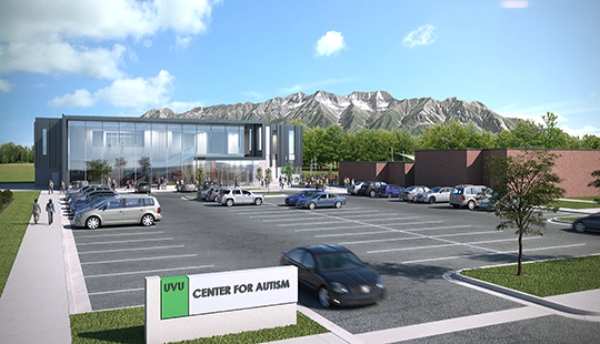 UVU's Board of Trustees approved moving forward on constructing a privately funded building on campus focused on autism education and resources.