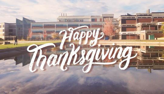Thanks to all UVU students, faculty, staff and community. Enjoy the holiday!