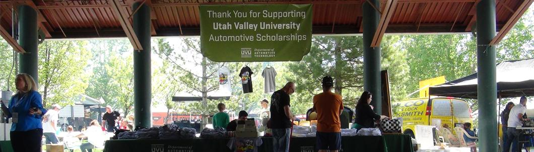 Supporting UVU scholarships