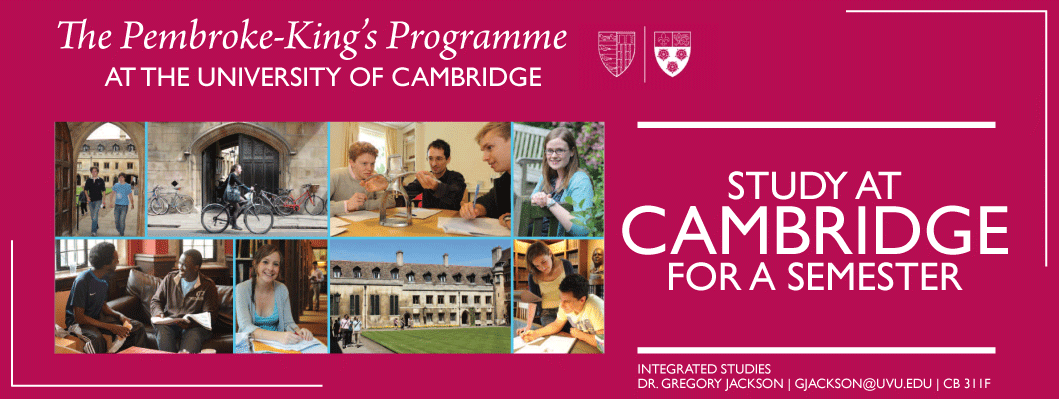 Study at Cambridge