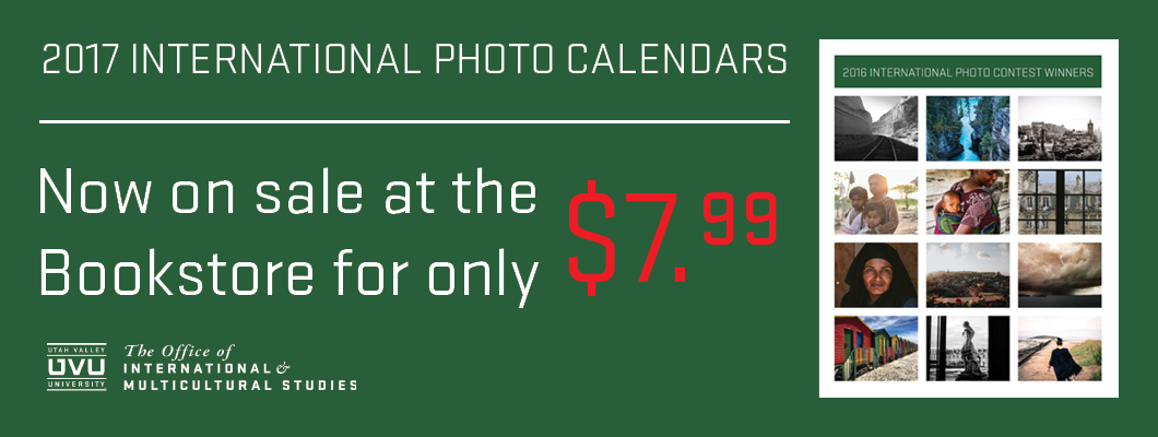 International Photo Calendars for sale.