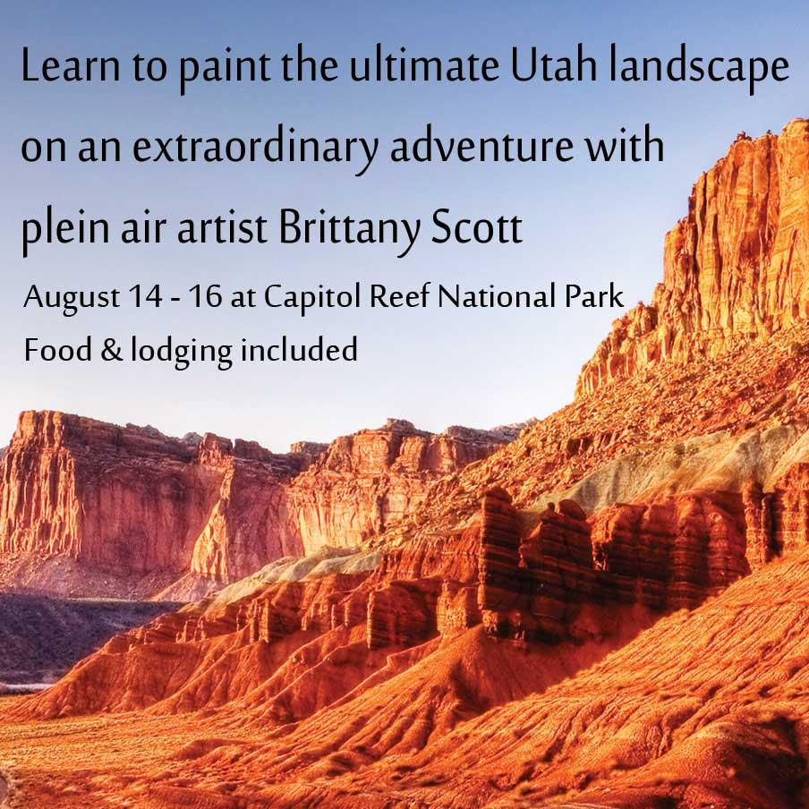 Oil Painting: Plein Air Workshop - Capitol Reef