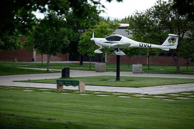 Plane Statue