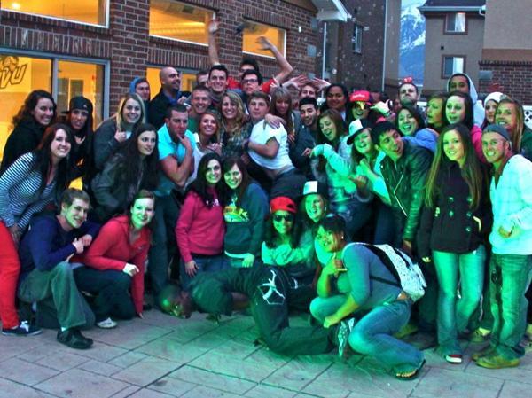 UVU Green men