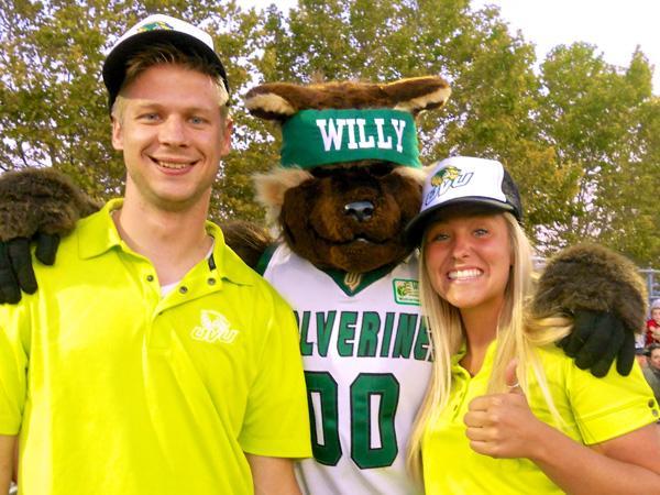 UVU wolverine mascot
