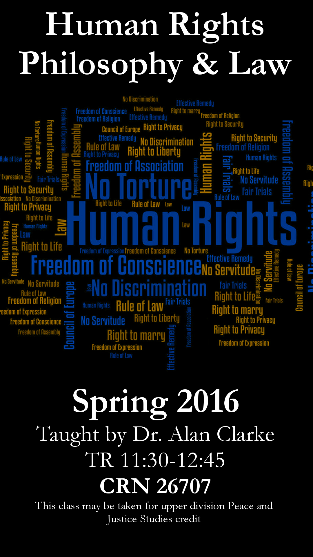 Human Rights Philosophy and Law