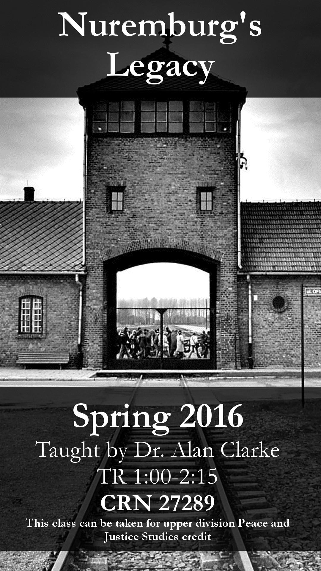 Nuremburg's Legacy