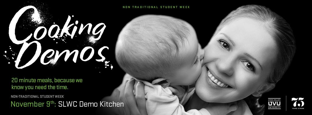 Non-Trad Week Cooking Demo