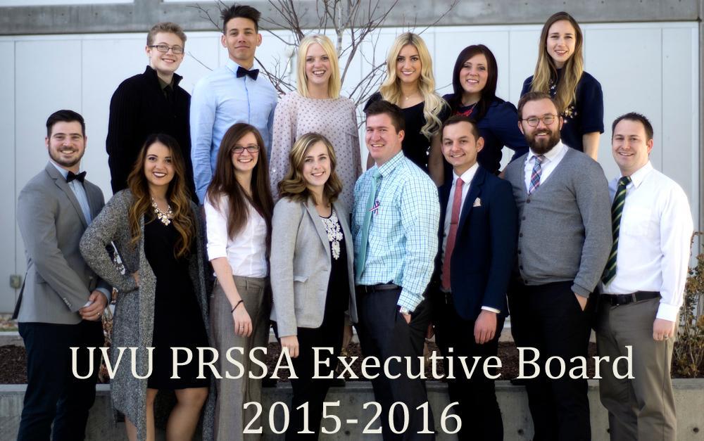 UVU PRSSA Executive Board