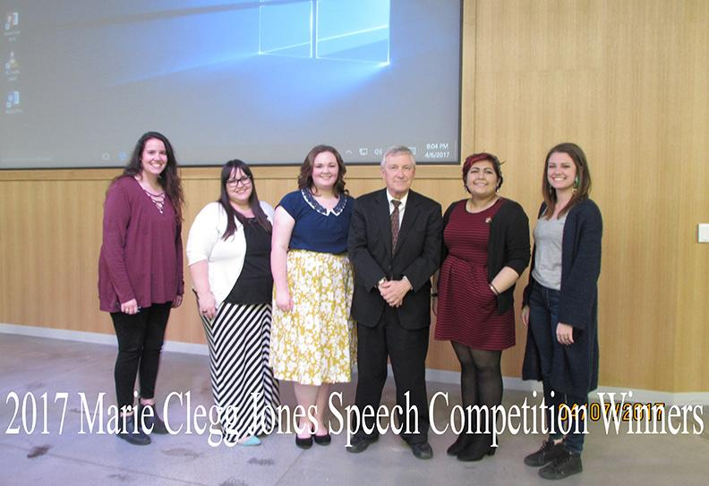 M.C.J. Speech Competition