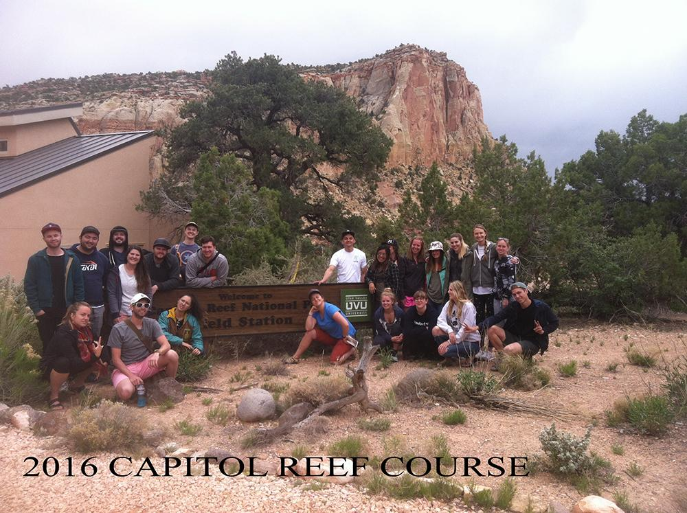 2016 Capitol Reef Course