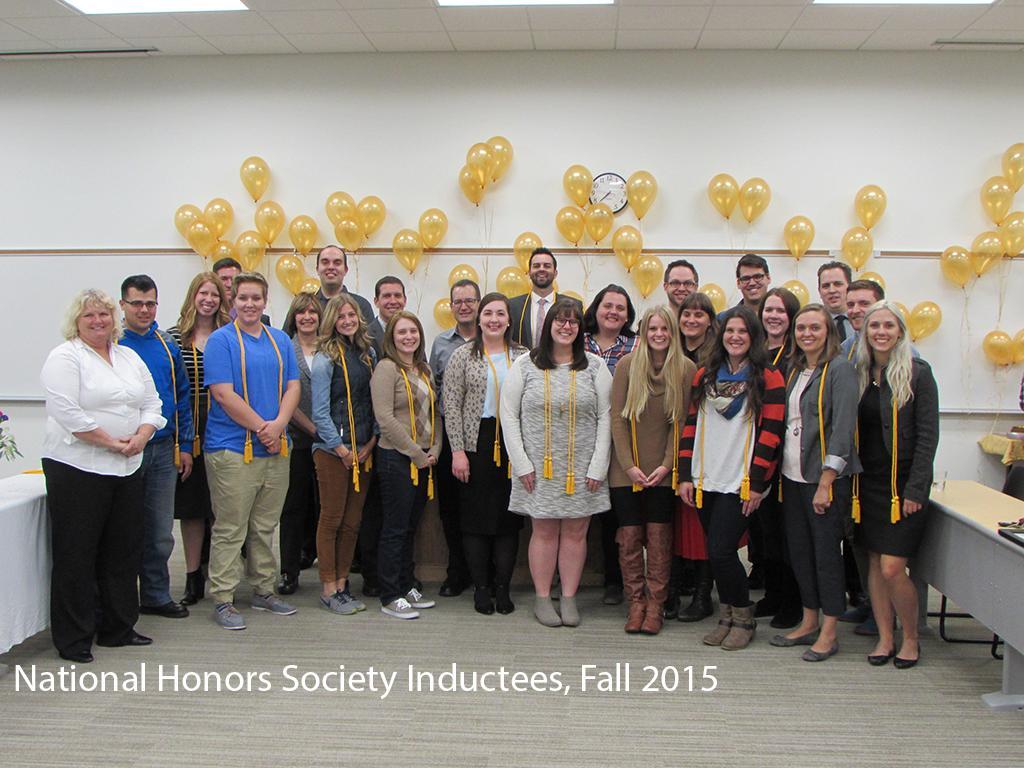 National Honors Society Inductees