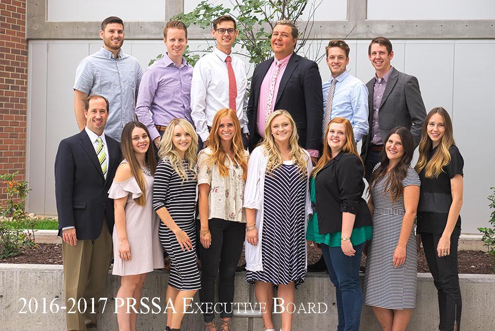 2016-2017 PRSSA Board