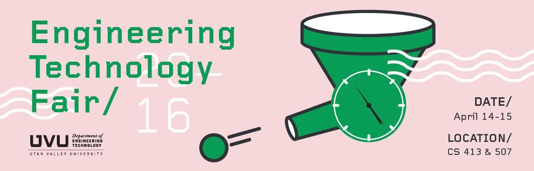 Engineering Technology Fair Spring 2016