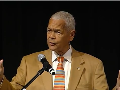 From his days as a student activist at Morehouse College to his former position as chairman of the NAACP, Julian Bond has championed human rights, civil rights, economic justice and peace. On Jan. 19, Bond spoke of his five-decades-long civil rights campaign as the keynote speaker of Utah Valley University's 18th annual Martin Luther King Jr. Commemoration.