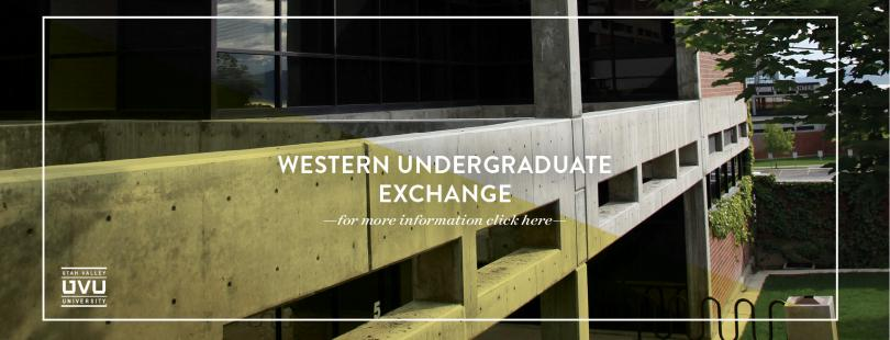 Western Undergraduate Exchange