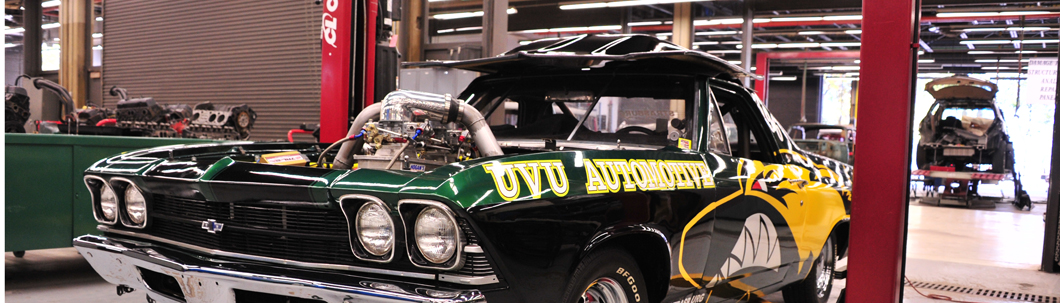 UVU Automotive Technology car