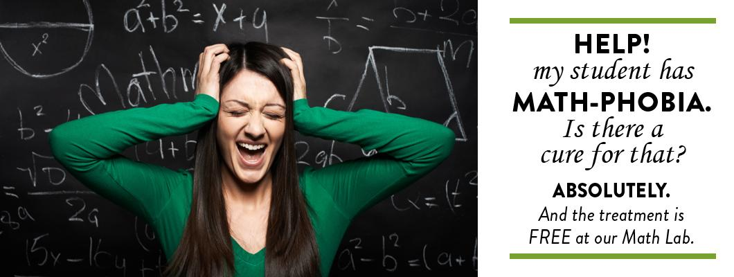 Math Phobia Help