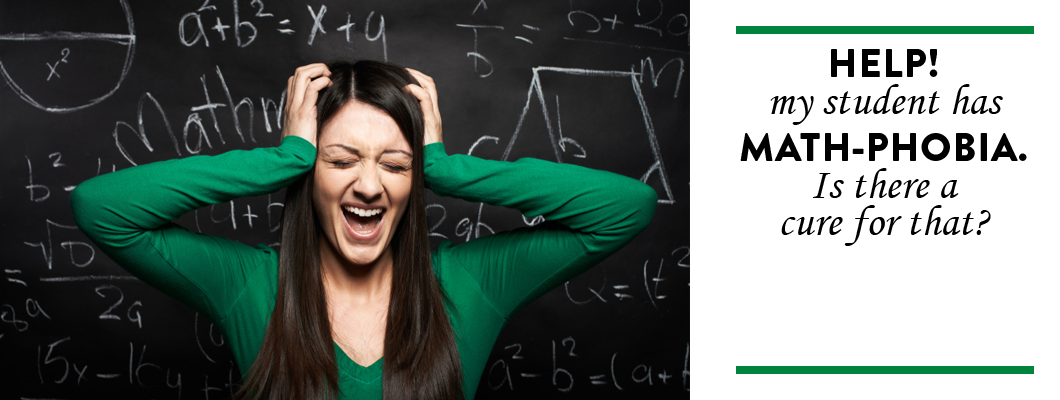 Help! My student has math-phobia! Is there a cure for that?