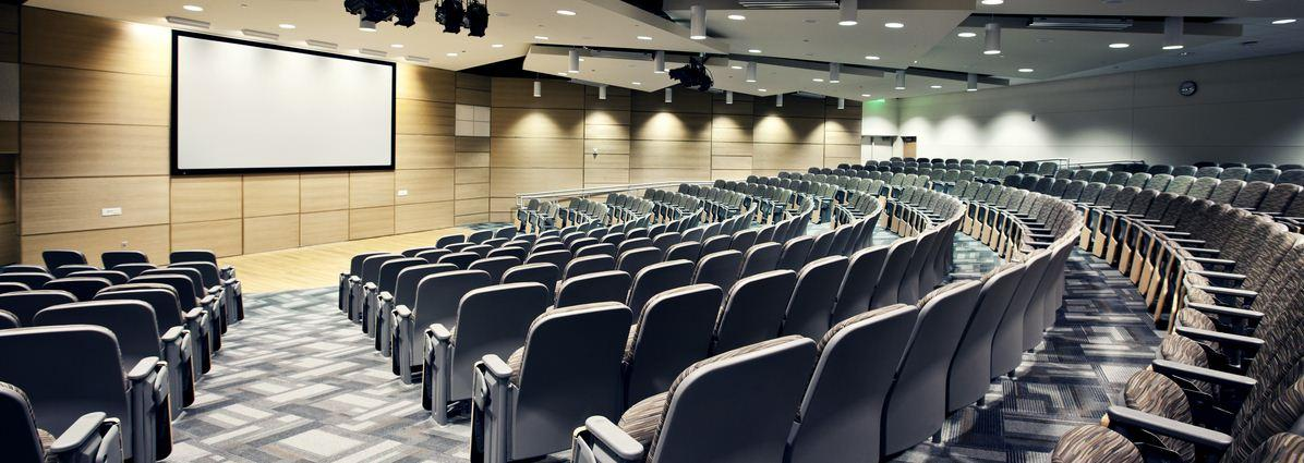 Auditorium in Science Building