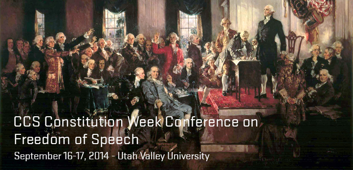 2014 Constitution Week Conference on Freedom of Speech