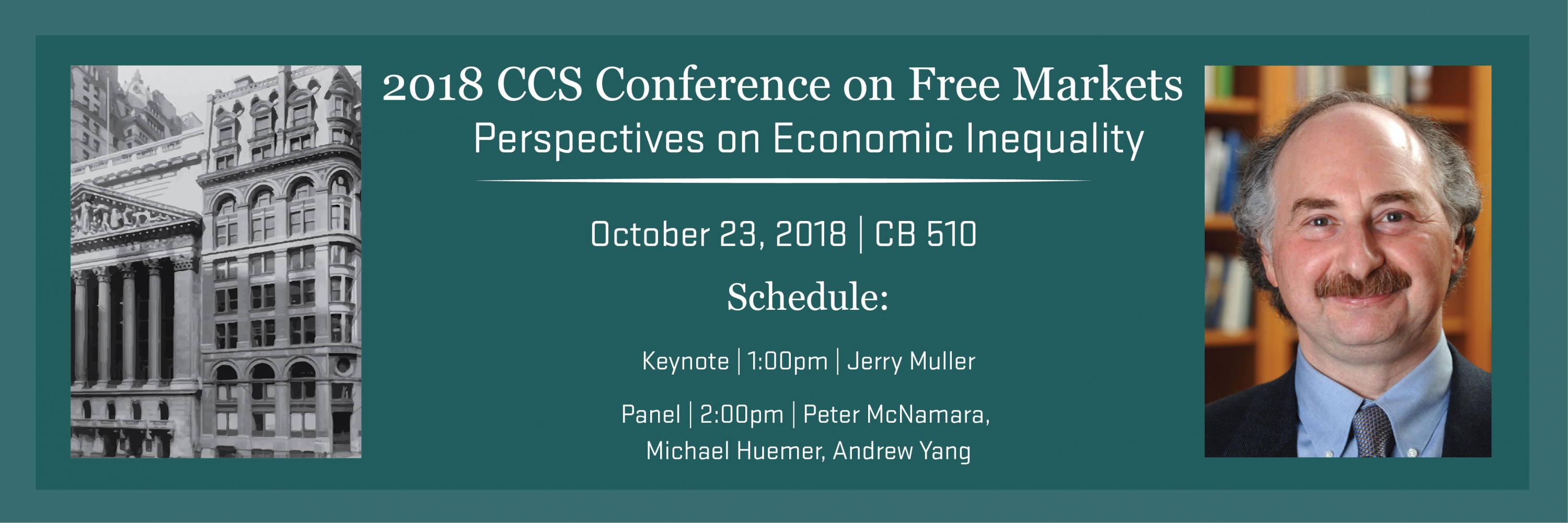 2018 CCS Conference on Free Markets