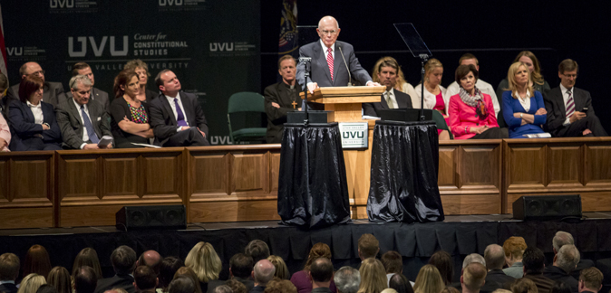 Constitutional Symposium Keynote Address - Dallin H. Oaks