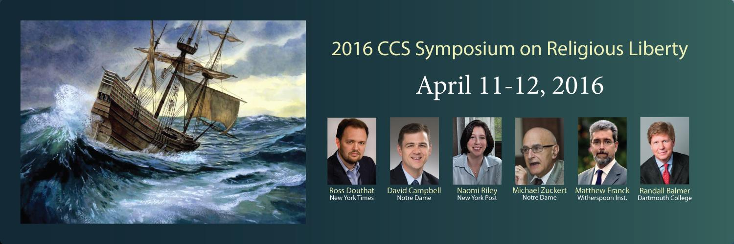 2016 Symposium on Religious Studies